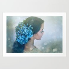 Fairy Light Art Print