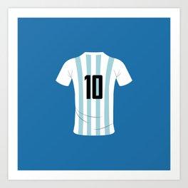 10 Argentina Art Print