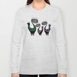 SNOOTY CATS Long Sleeve T-shirt