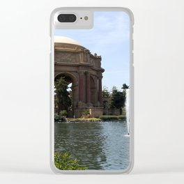 Palace Of Fine Arts And Lagoon Clear iPhone Case