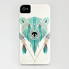 polar bear iPhone (4, 4s) Slim Case