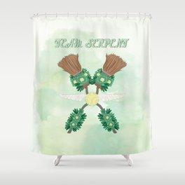 Team Serpent Shower Curtain