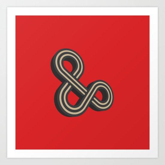 Forever & Ever Art Print