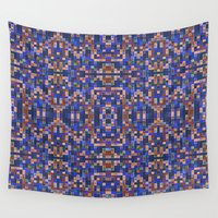 mosaic Wall Tapestries featuring Mosaic by PureVintageLove