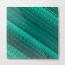 Diagonal Stripes #10 Metal Print