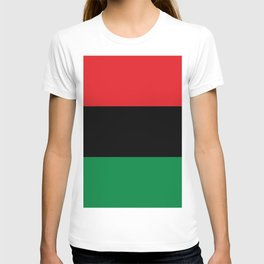flag of Pan-Africanism or Unia T-shirt