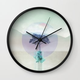 Lone Tree love 01 Wall Clock