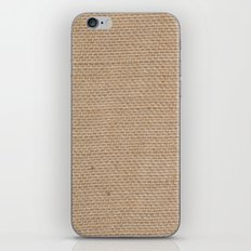 BURLAP iPhone & iPod Skin