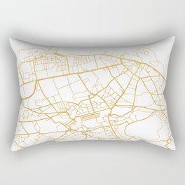 EDINBURGH SCOTLAND CITY STREET MAP ART Rectangular Pillow