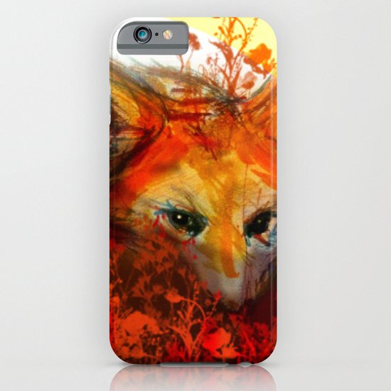 Fox in Sunset III iPhone & iPod Case