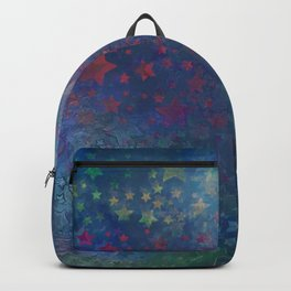 """Night of stars and dreams"" Backpack"