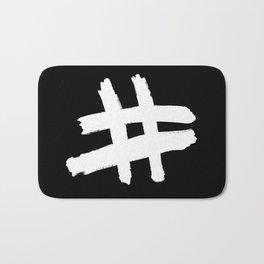 Hashtag Bath Mat