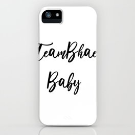 TeamBhaer Baby iPhone Case