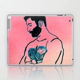Man in Love Laptop & iPad Skin