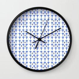 Christian Cross 20 Wall Clock