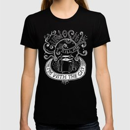 Let Curiosity Kill Me, I'm with the Cat T-shirt