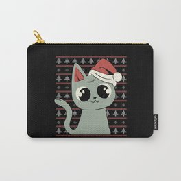 CAT UGLY SWEATER Carry-All Pouch