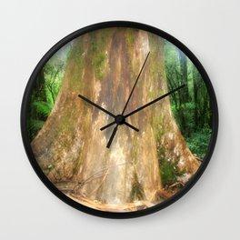 "Mountain Ash Tree (Aka ""The Big Boy"") Wall Clock"