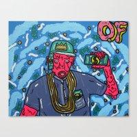 odd future Canvas Prints featuring ODD FUTURE by TheArtGoon