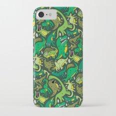 Dino Pattern iPhone 8 Slim Case