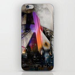 Meet me in my smooth city iPhone Skin