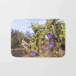 Fig trees in the countryside near the medieval white village of Ostuni Bath Mat