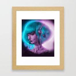 Iska Ithil Framed Art Print