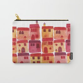 Tuscany Watercolor Carry-All Pouch