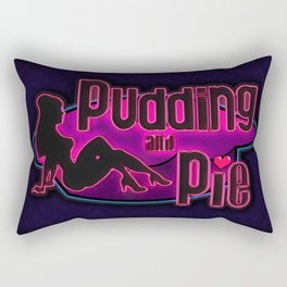 The Pudding and Pie - Wolf among us  Rectangular Pillow