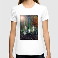 kodama T-shirts featuring Kodama under the tree by pkarnold + The Cult Print Shop