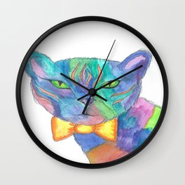 Mr. Fancy Paws Wall Clock