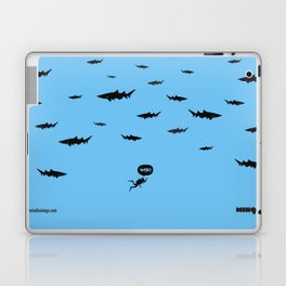 WTF? Tiburones! Laptop & iPad Skin
