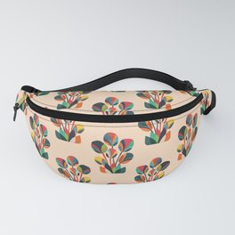 Ikebana - Geometric flower Fanny Pack
