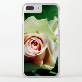 Whispering secrets Clear iPhone Case