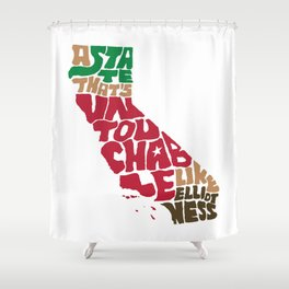 The Untouchable State Shower Curtain