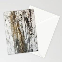 White Decay II Stationery Cards