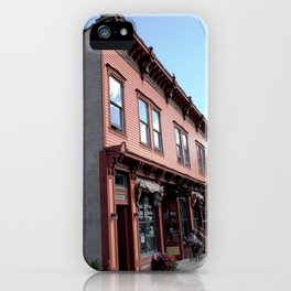 """On Greene Street - The """"Main Drag"""" of Silverton, No. 1 of 3 iPhone Case"""