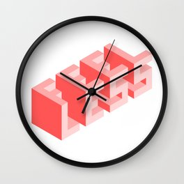 Times Are Tough Wall Clock
