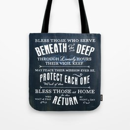 Submariners' Hymn Tote Bag