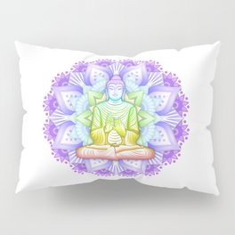Color Mandala Pillow Sham