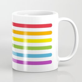 Lightsaber Rainbow Coffee Mug