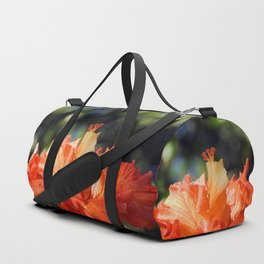 Flamingo Hibiscus Duffle Bag
