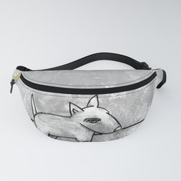 Dog No.1r by Kathy Morton Stanion Fanny Pack