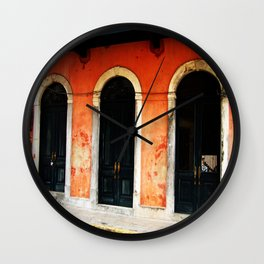 Doorways Three Wall Clock