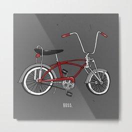 Boss[er] Metal Print