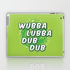 Wubbalubbadubdub Laptop & iPad Skin