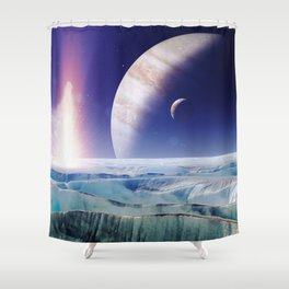 gAlaxY PLANET : Out of This World Shower Curtain