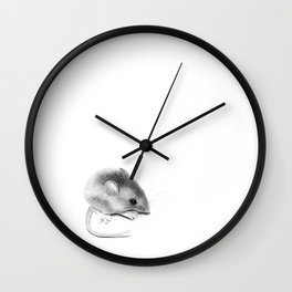 Itty Bitty Mouse Wall Clock