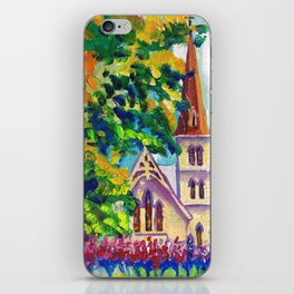 Anglican Catholic Church on Sunny Sunday iPhone Skin