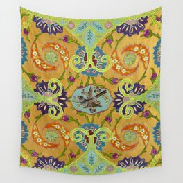 World Quilt - Panel #1 Wall Tapestry